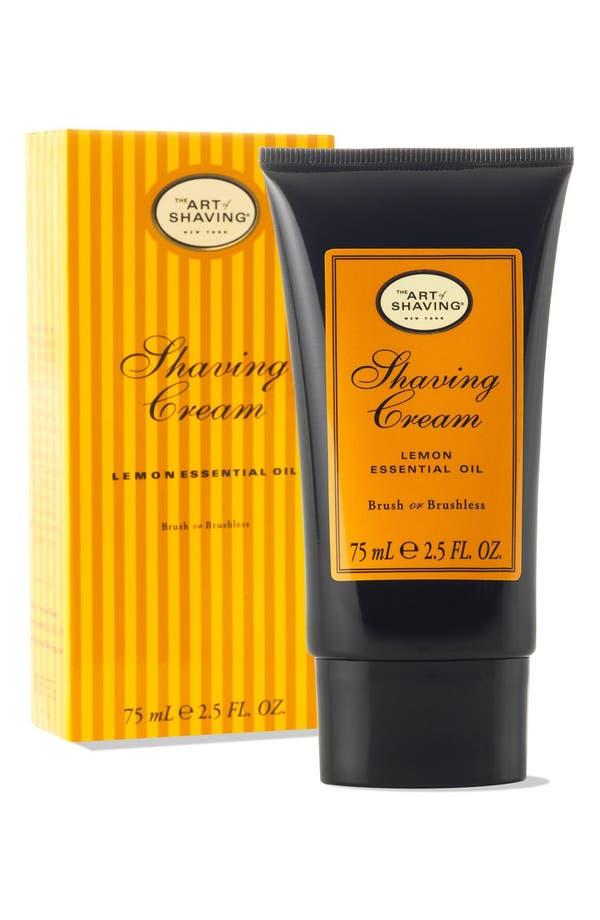 Alternate Image 1 Selected - The Art of Shaving® 'Lemon' Shaving Cream Tube