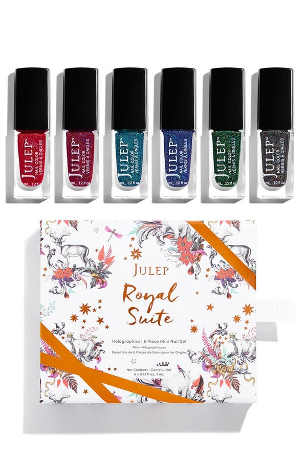 Alternate Image 1 Selected - Julep™ Royal Suite Holographics 6-Pack Nail Color Set (Limited Edition) ($42 Value)