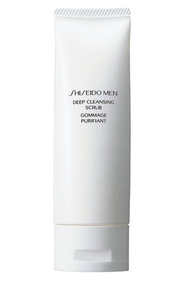 Main Image - Shiseido Men Deep Cleansing Scrub