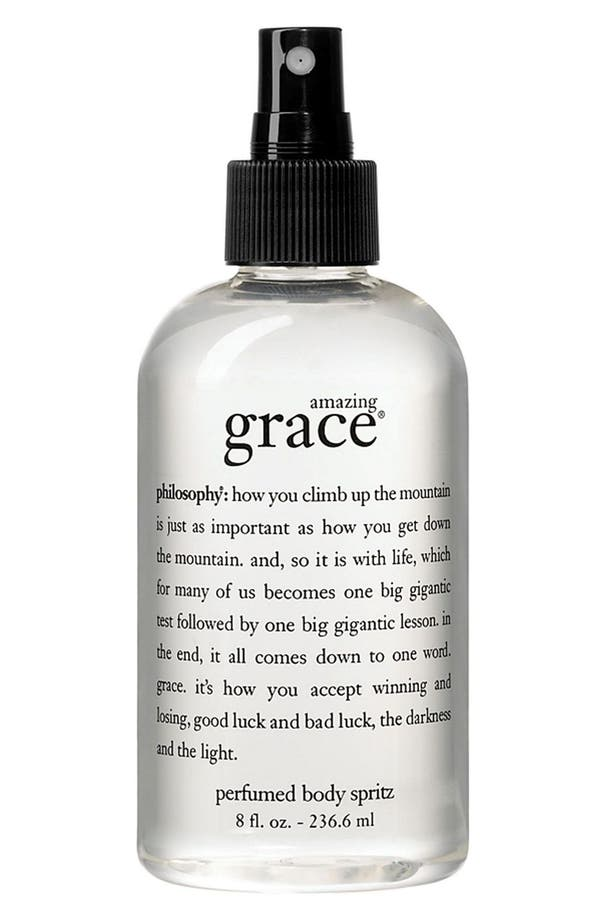 Alternate Image 1 Selected - philosophy 'amazing grace' perfumed body spritz