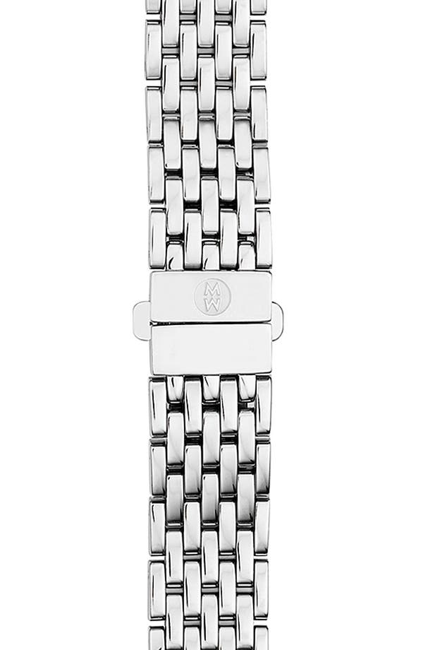 Alternate Image 1 Selected - MICHELE 12mm Seven-Link Bracelet Watchband