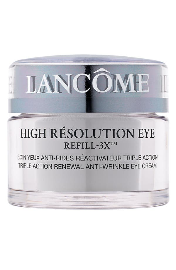 Alternate Image 1 Selected - Lancôme High Résolution Refill-3X Anti-Wrinkle Eye Cream