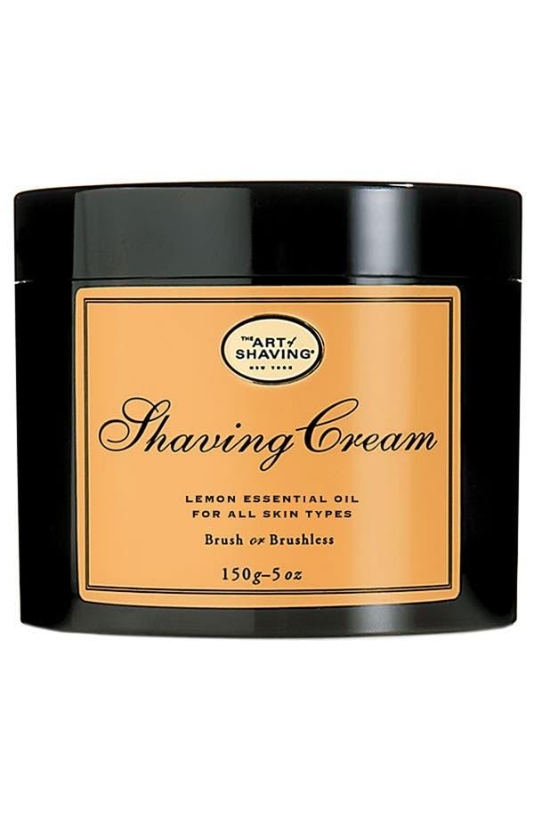 Alternate Image 1 Selected - The Art of Shaving® Lemon Shaving Cream