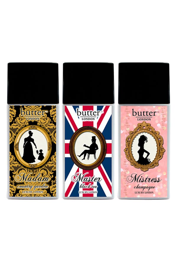 Main Image - butter LONDON 'Luxury' Lotion Trio
