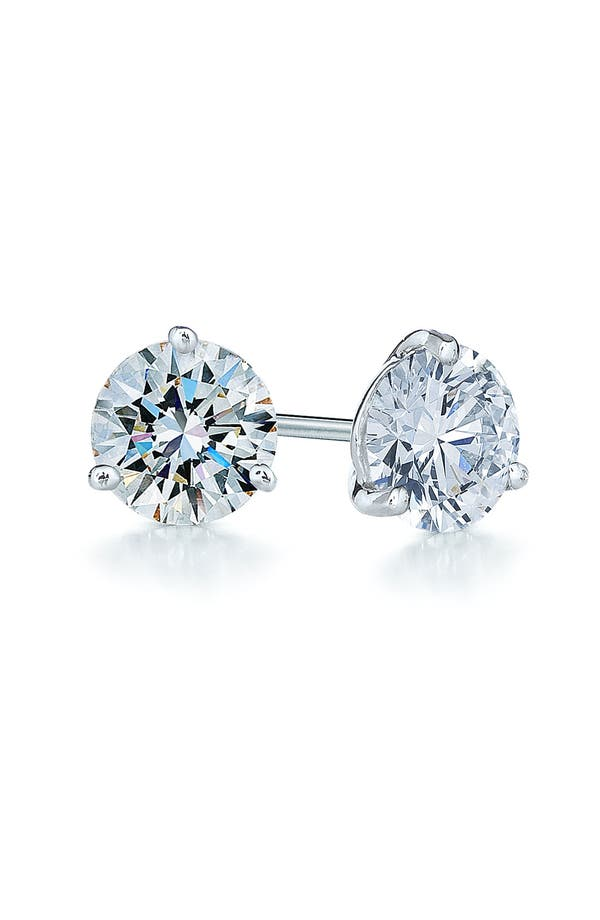 Alternate Image 1 Selected - Kwiat 1.25ct tw Diamond & Platinum Stud Earrings