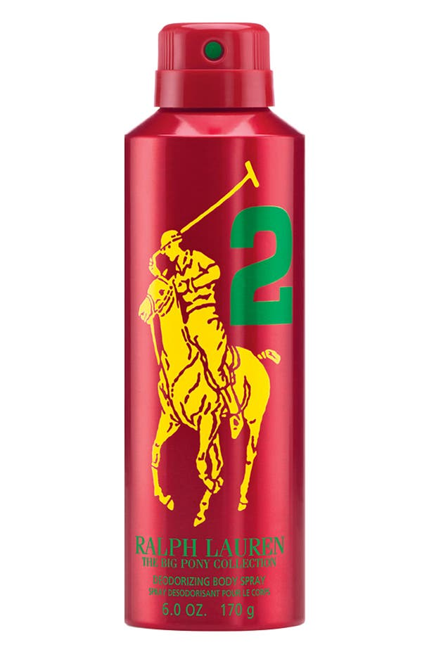 Main Image - Ralph Lauren 'Big Pony #2 - Red' Allover Body Spray