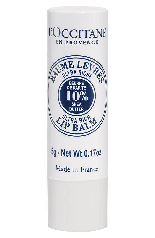 Alternate Image 1 Selected - L'Occitane Shea Butter Lip Balm Stick
