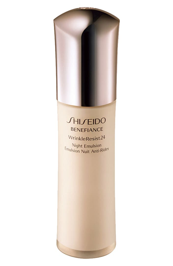 Shiseido 'Benefiance WrinkleResist24' Night Emulsion ...