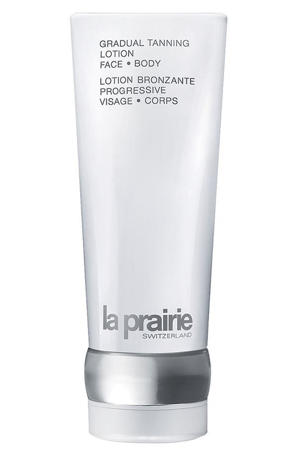 Alternate Image 1 Selected - La Prairie Gradual Tanning Lotion for Face & Body
