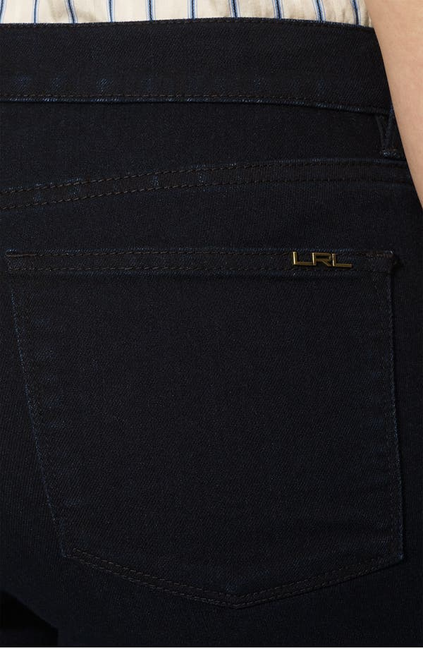 Alternate Image 3  - Lauren Ralph Lauren Straight Leg Ankle Pants (Plus)