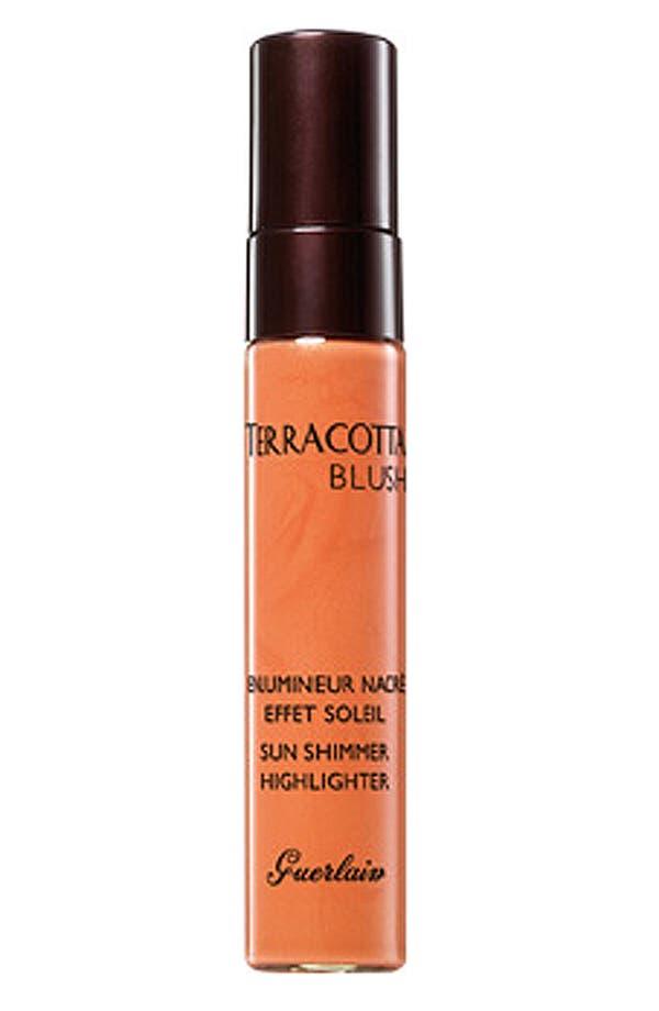 Alternate Image 1 Selected - Guerlain 'Terracotta Sun Shimmer' Highlighting Blush