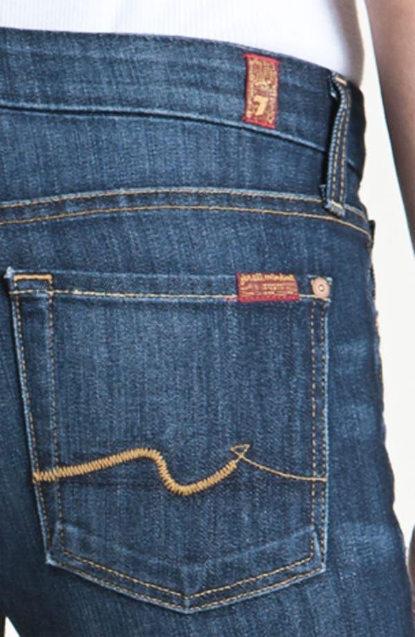 Alternate Image 3  - 7 For All Mankind® 'Kimmie' Bootcut Jeans (Midnight New York Dark)