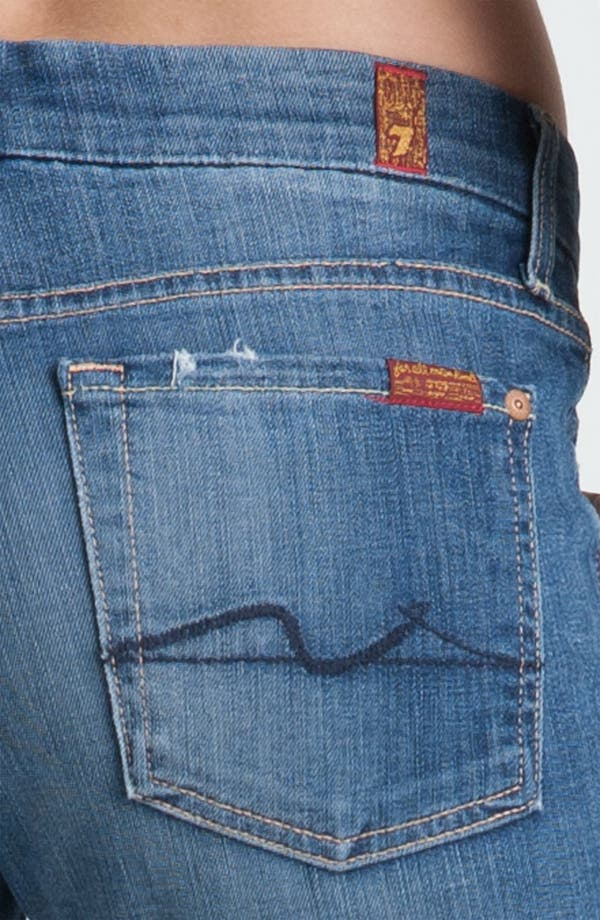 Alternate Image 3  - 7 For All Mankind® 'Kimmie' Straight Leg Jeans (Medium Worn)