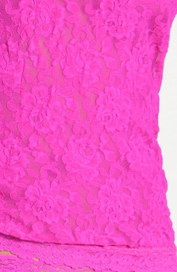 Alternate Image 3  - Hanky Panky 'Signature Lace' Racerback Camisole