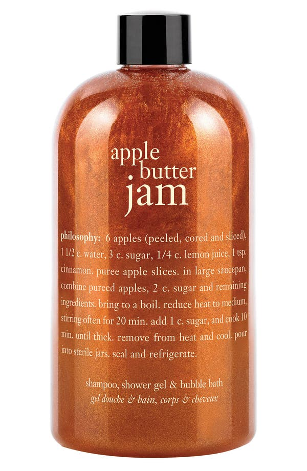 Main Image - philosophy 'apple butter jam' shampoo, shower gel & bubble bath (Nordstrom Exclusive)