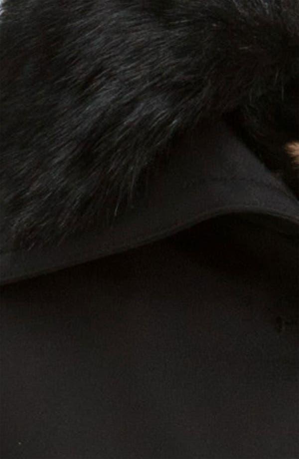 Alternate Image 3  - Hilary Radley Detachable Fur Collar Raincoat