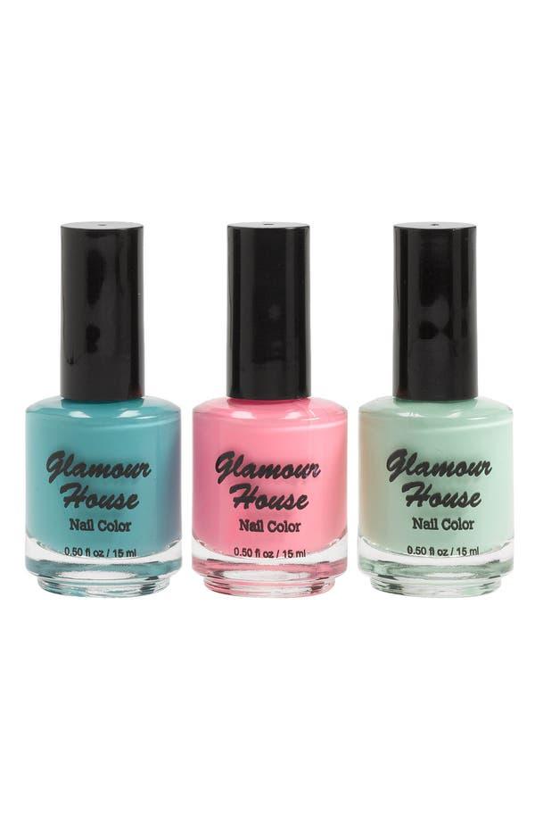 Alternate Image 1 Selected - Glamour House Nail Polish (3-Pack)