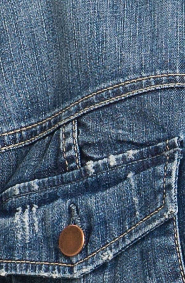Alternate Image 3  - KUT from the Kloth Denim Jacket (Plus)