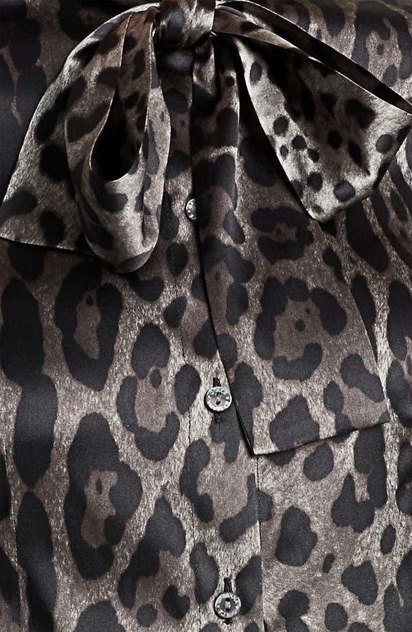 Alternate Image 3  - Dolce&Gabbana Stretch Satin Blouse