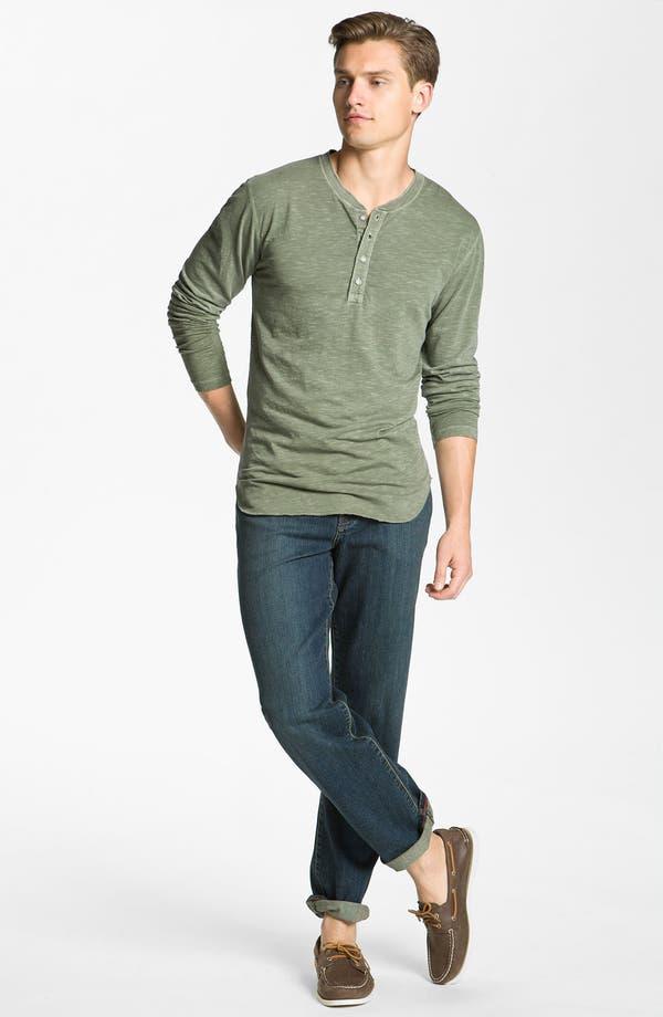 Alternate Image 4  - AG Jeans Slub Knit Henley