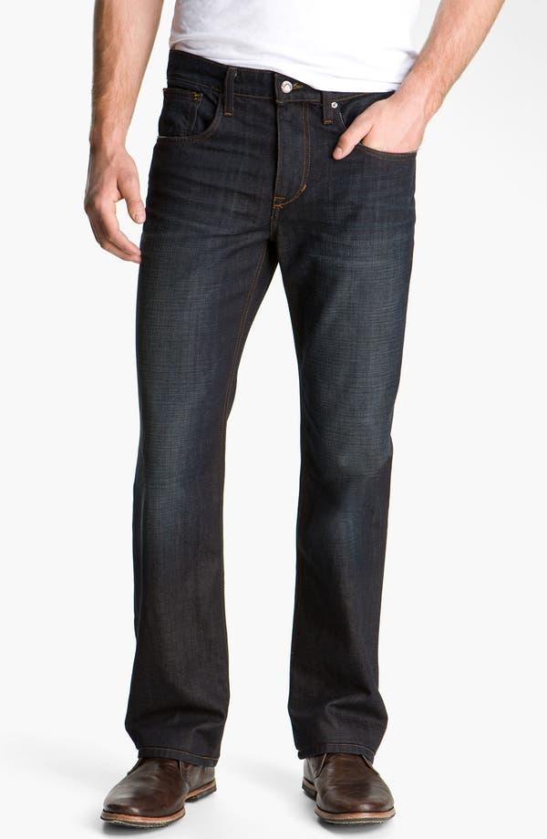 Alternate Image 2  - Joe's 'Rebel' Relaxed Straight Leg Jeans (Fields Dark Blue)