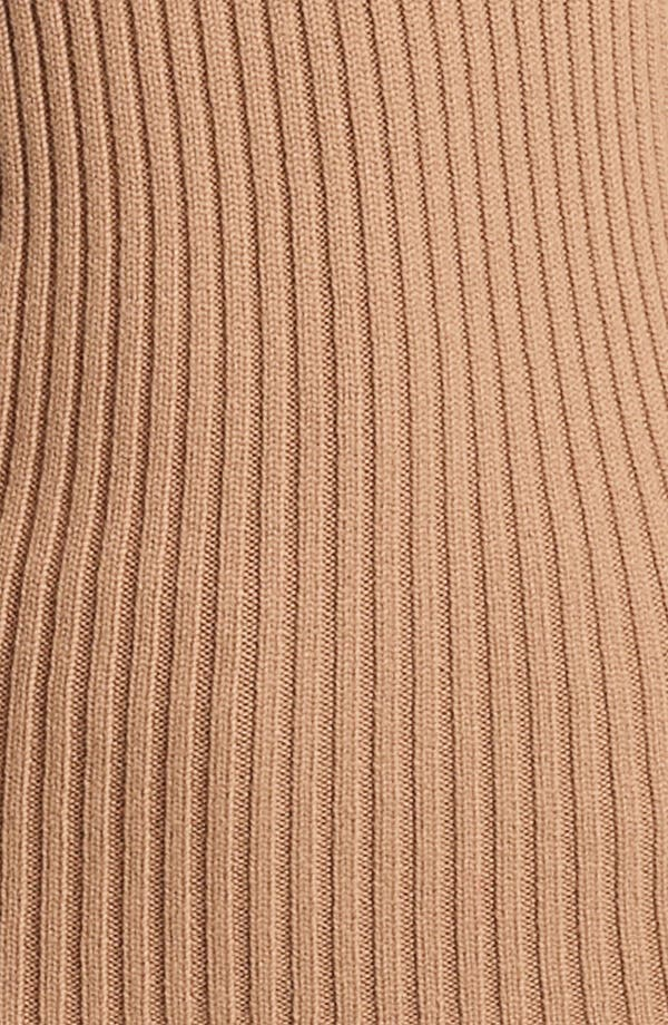 Alternate Image 2  - Michael Kors Ribbed Cashmere Turtleneck