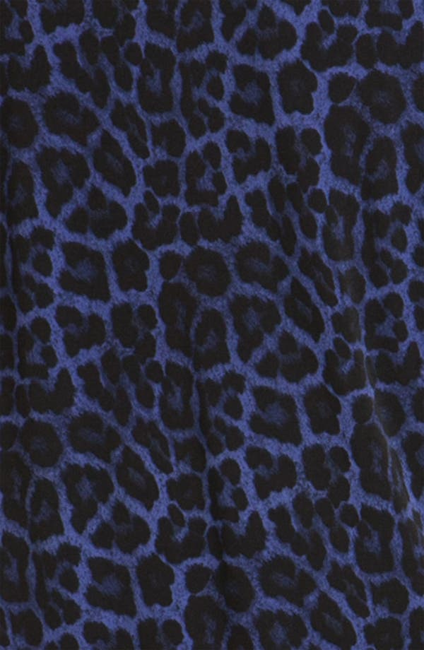 Alternate Image 3  - MICHAEL Michael Kors Drape Neck Leopard Print Dress
