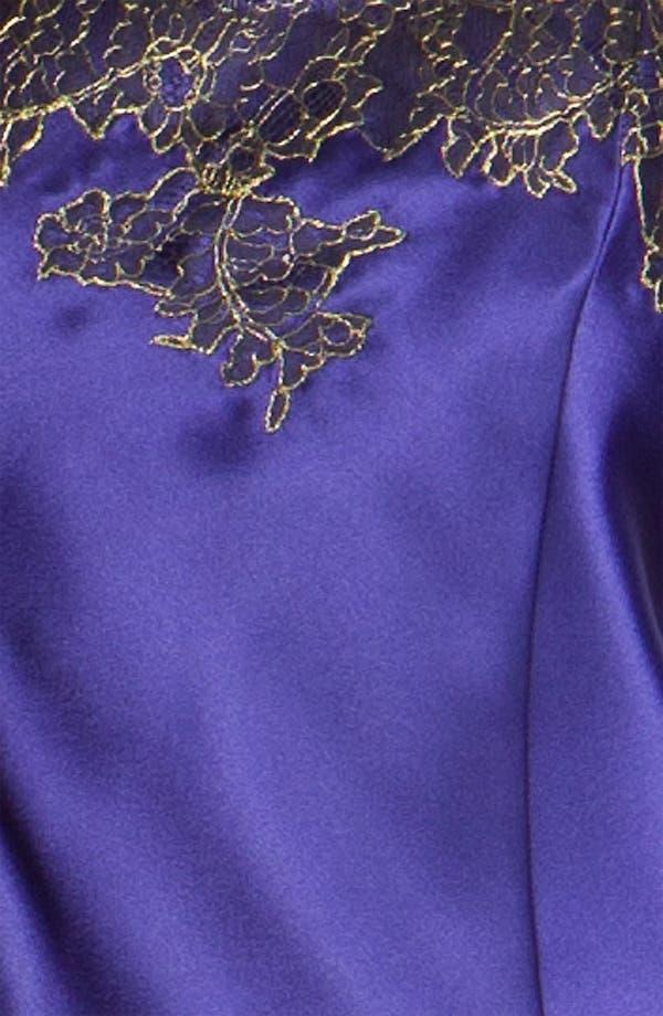 Alternate Image 3  - Oscar de la Renta Sleepwear 'Twilight Lace' Pajamas