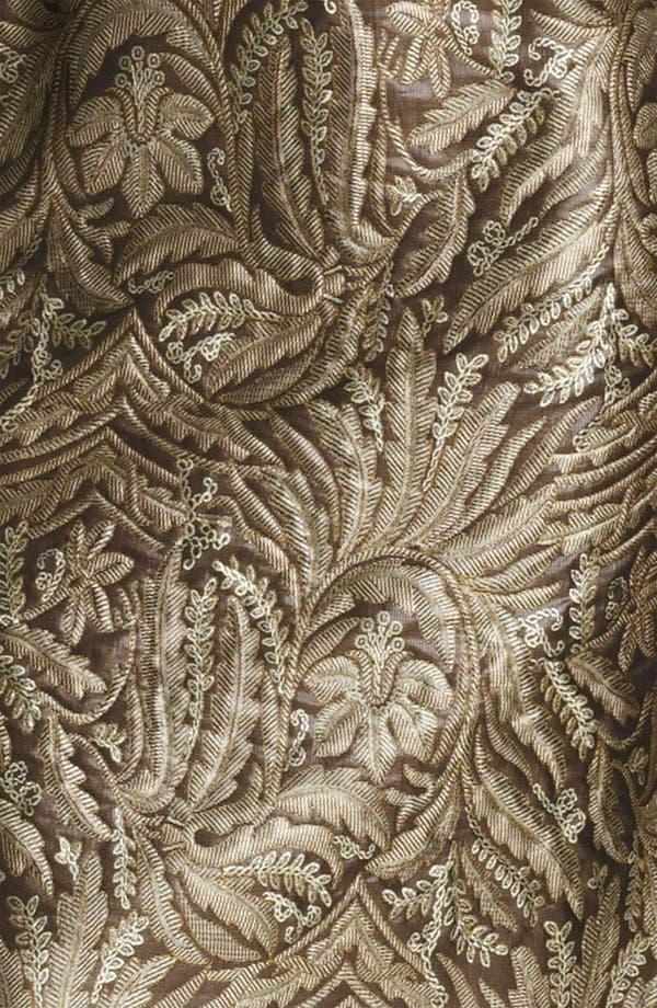 Alternate Image 3  - Max Mara 'Cera' Belted Floral Brocade Dress