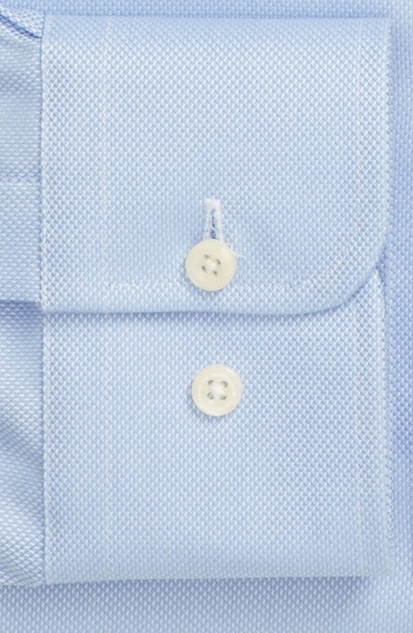 Alternate Image 4  - David Donahue Trim Fit Dress Shirt