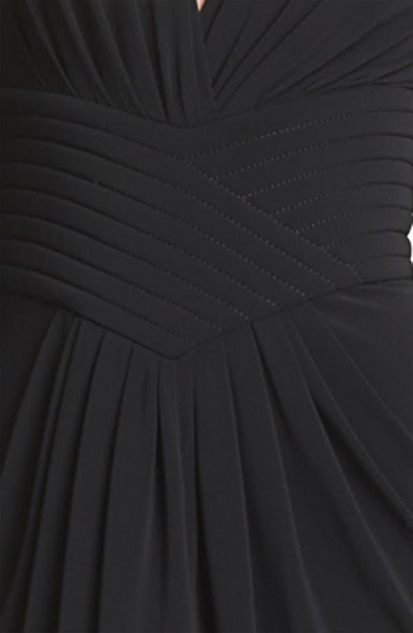 Alternate Image 3  - Armani Collezioni Matte Jersey Dress