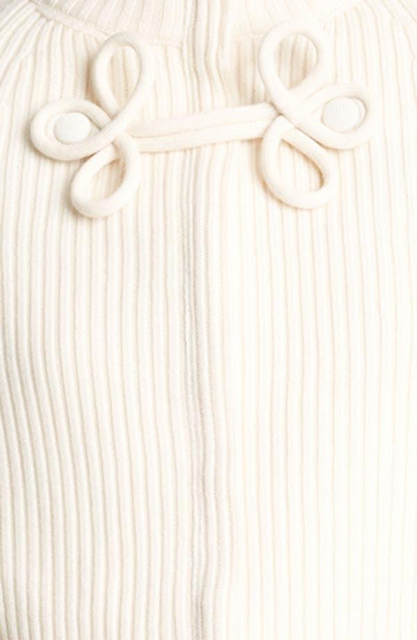 Alternate Image 3  - Valentino Zip Front Wool Cape