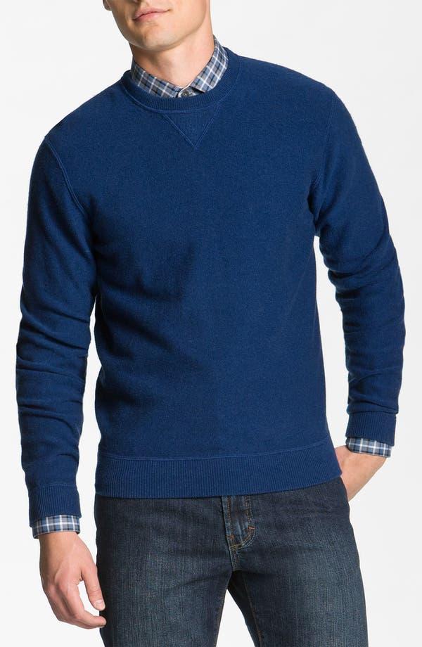 Alternate Image 1 Selected - Hickey Freeman Wool & Cashmere Sweatshirt