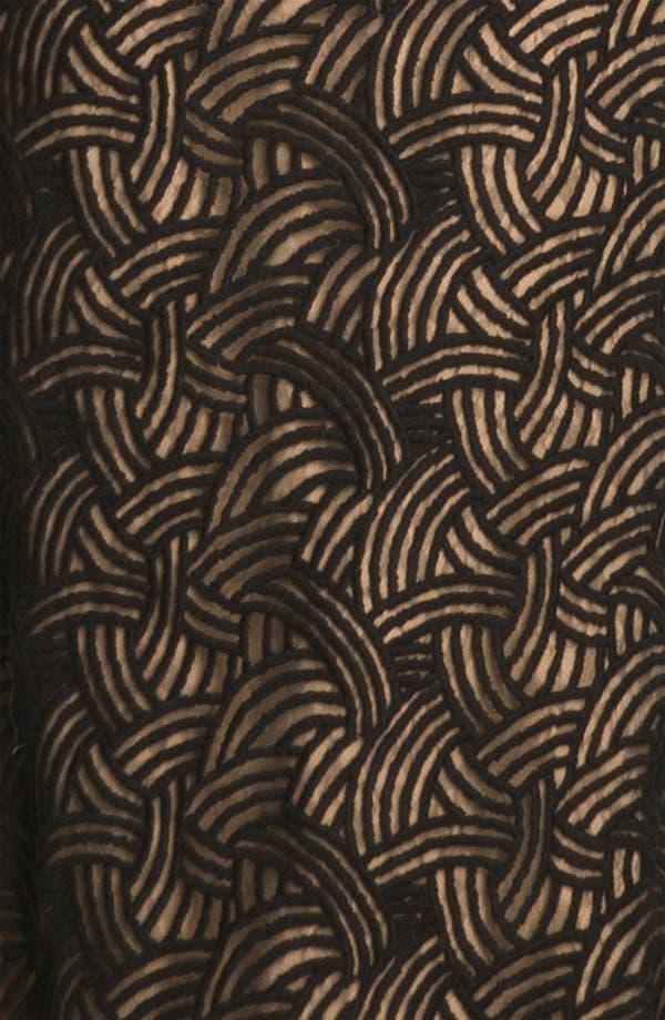 Alternate Image 3  - Tadashi Shoji Surplice Scalloped Lace Gown