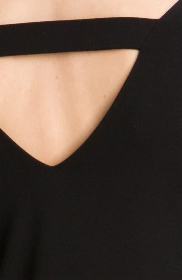 Alternate Image 3  - Eileen Fisher V-Back Jersey Dress