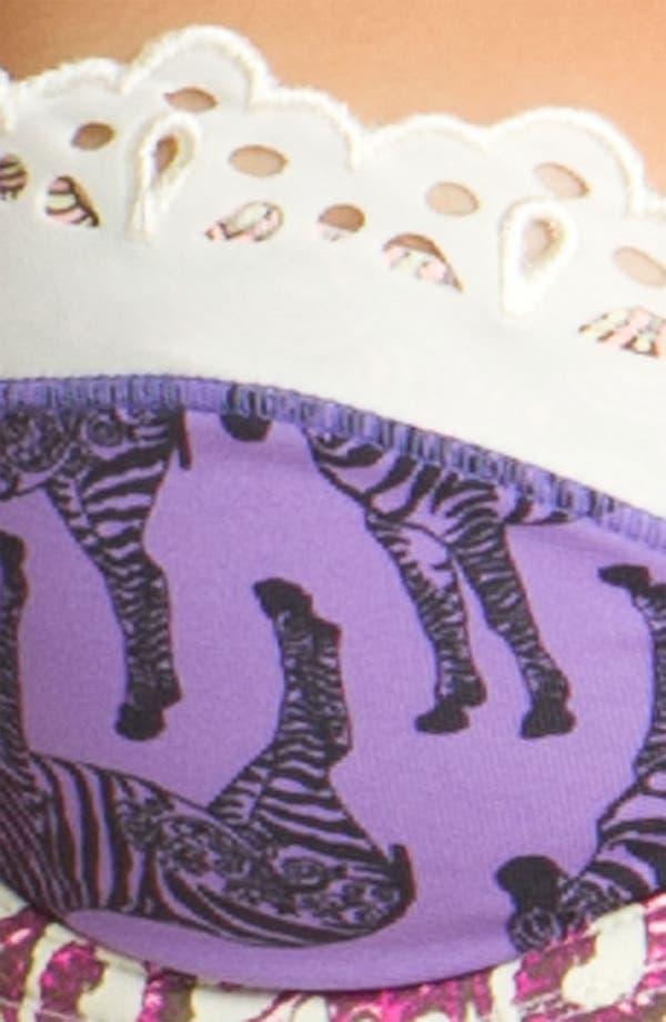 Alternate Image 3  - Maaji 'Castaway Zebra' Bikini Top