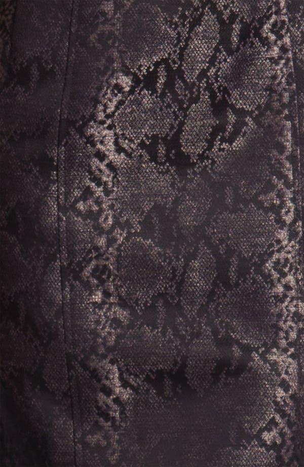 Alternate Image 3  - Louben Python Jacquard Sheath Dress