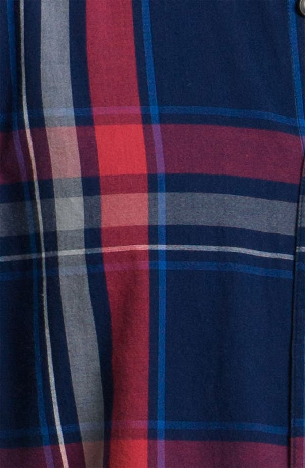 Alternate Image 3  - 1901 Yarn Dyed Plaid Woven Shirt
