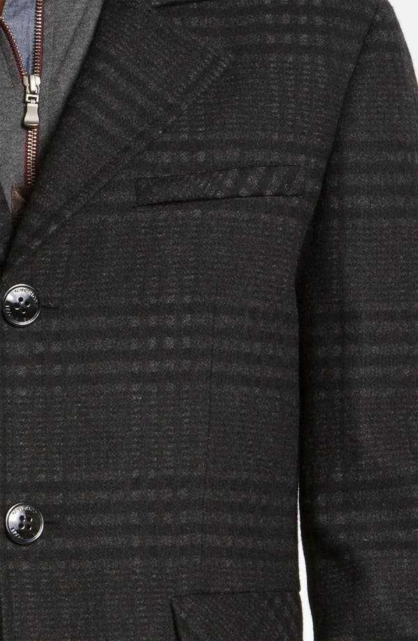 Alternate Image 3  - Kenneth Cole New York Wool Blend Overcoat