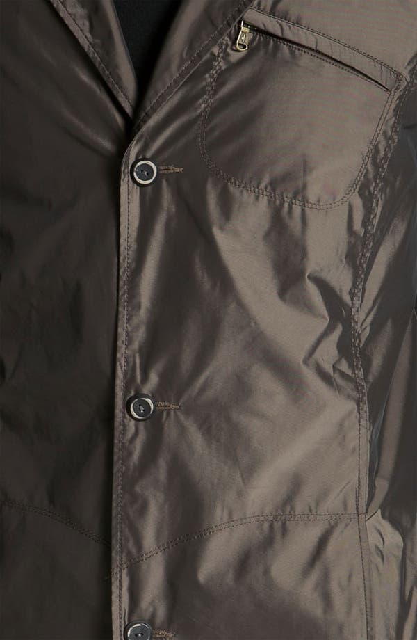Alternate Image 3  - Robert Comstock Water Resistant Raincoat