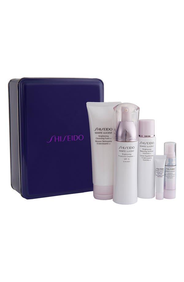 Main Image - Shiseido 'White Lucent' Brilliant Beauty Basics Set