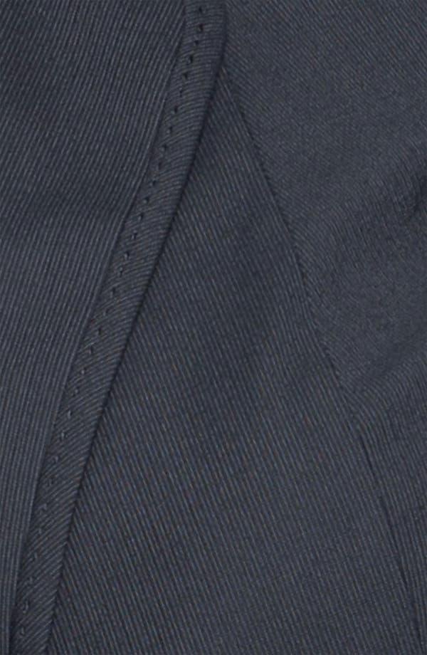 Alternate Image 3  - Sejour Pinstripe Suit Jacket (Plus)