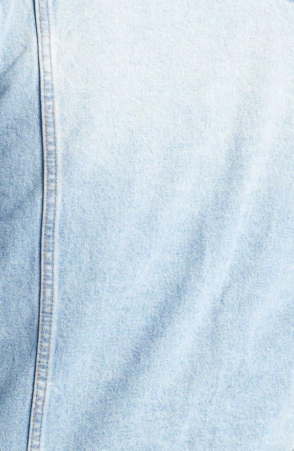 Alternate Image 3  - Topman 'Cavendish' Denim Jacket