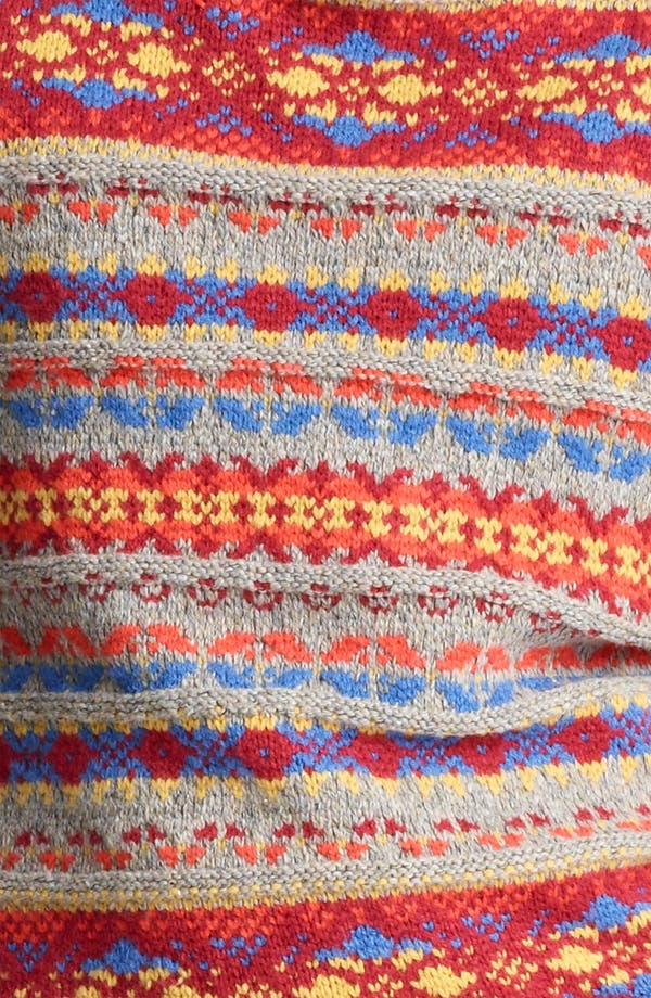 Alternate Image 3  - Topman Fair Isle Crewneck Sweater with Elbow Patches