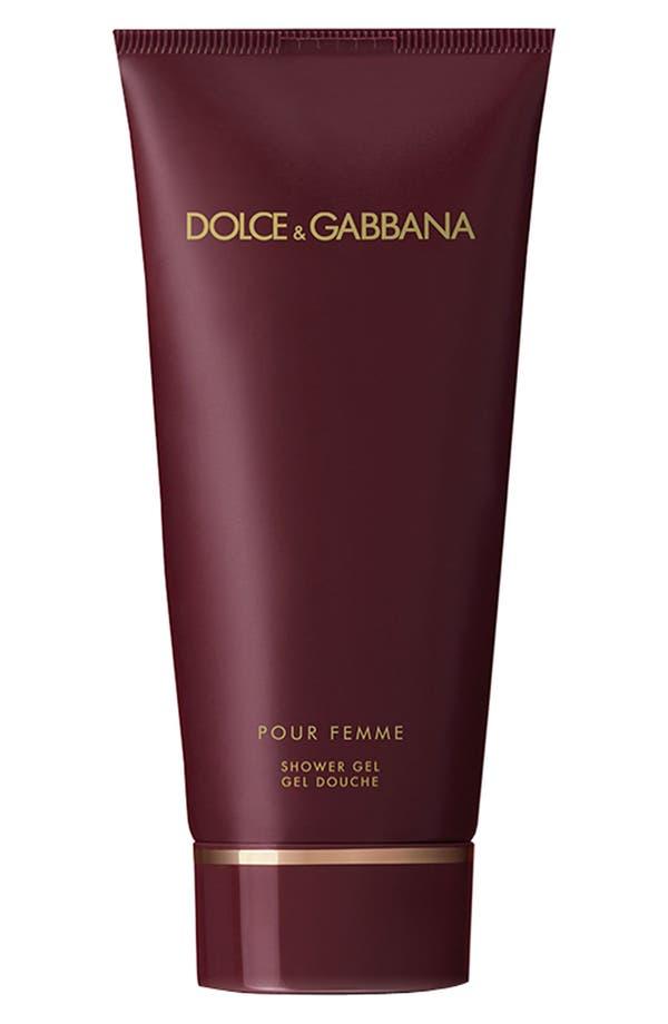 Alternate Image 1 Selected - Dolce&Gabbana Beauty 'Pour Femme' Shower Gel