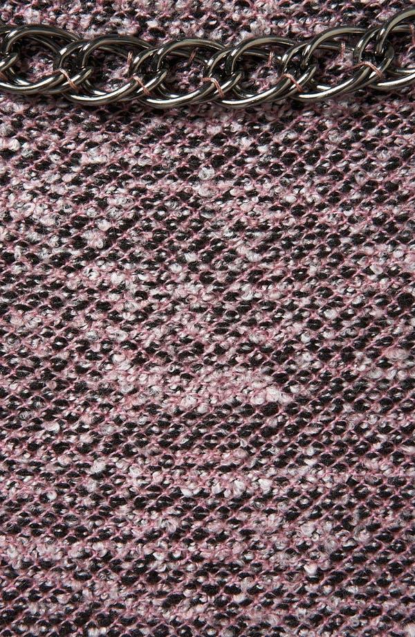 Alternate Image 3  - Topshop Chain Trim Bouclé Sweatshirt