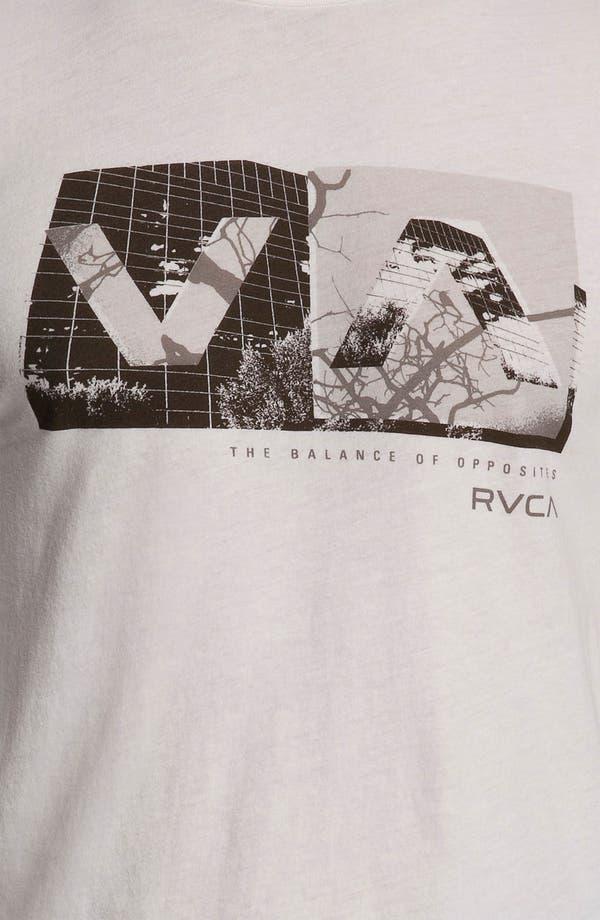 Alternate Image 3  - RVCA 'Branch Box' Graphic Crewneck T-Shirt