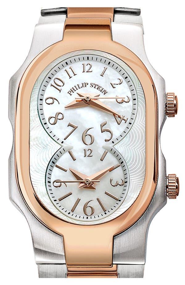 Alternate Image 2  - Philip Stein® 'Signature' Small Two Tone Watch Case