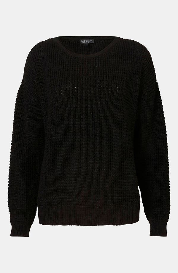 Main Image - Topshop Textured Knit Sweater