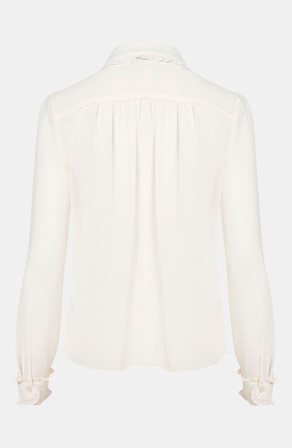 Alternate Image 2  - Topshop Bib Front Shirt